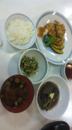 8月のお料理教室(^-^)/☆